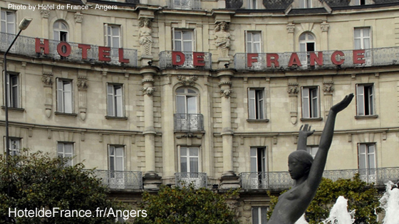 Angers France Hotels Hotel de France Angers